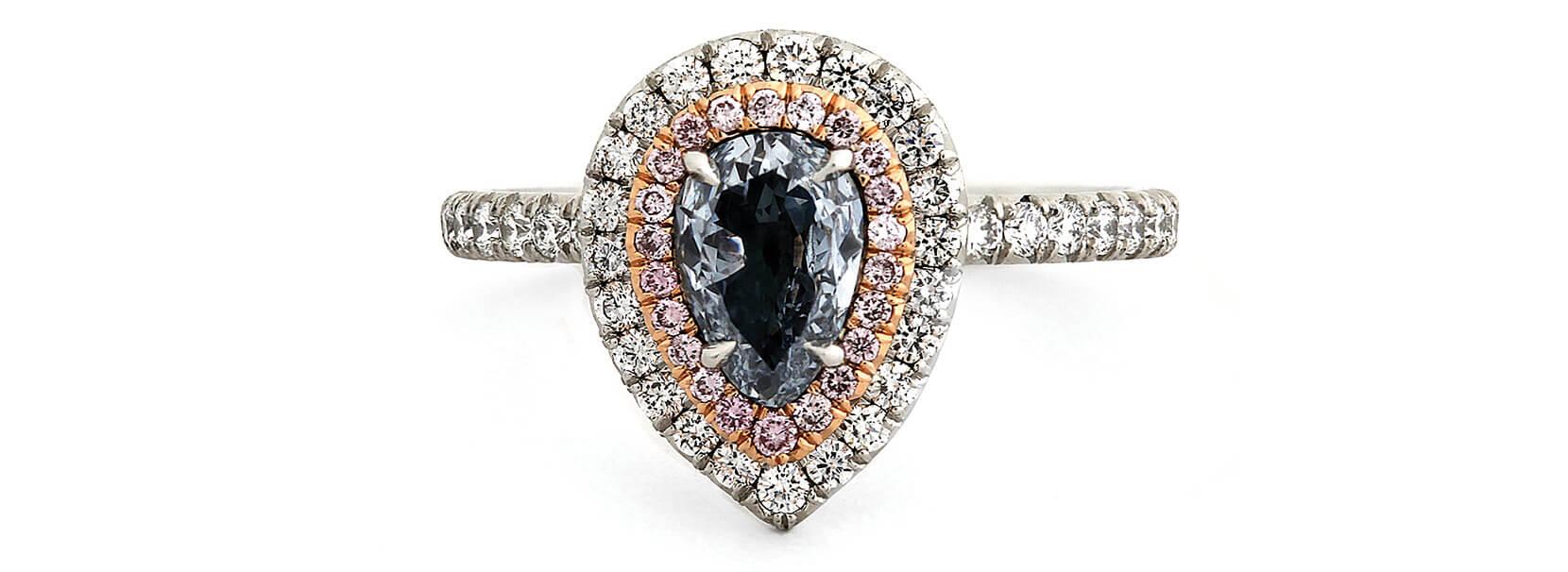 rare colored diamonds