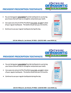 Prevident Prescription Toothpaste